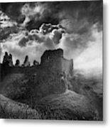 Carreg Cennen 3 Metal Print