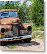 Cars From The Past Metal Print