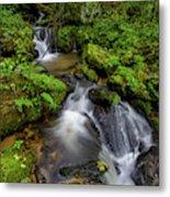 Cascades Of Lee Falls Metal Print