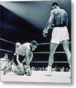 Cassisus Clay V Floyd Patterson Metal Print