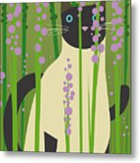 Cat Look 4 Metal Print