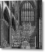 Cathedral Orchestra Metal Print