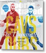 Cavs - Dubs The Threematch Sports Illustrated Cover Metal Print
