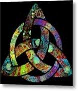 Celtic Triquetra Or Trinity Knot Symbol 3 Metal Print