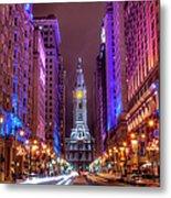 Center City Philadelphia Metal Print