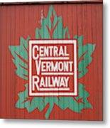 Central Vermont Railway Metal Print