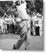Champion Golfer Ben Hogan Metal Print