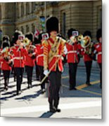 Changing Of The Guard In Ottawa Ontario Canada Metal Print