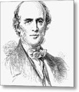 Charles Lyell, Scottish-born British Metal Print