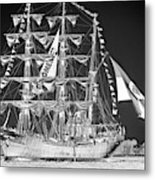 Charleston Ghost Ship Metal Print