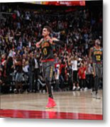 Chicago Bulls V Atlanta Hawks Metal Print