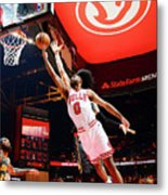 Chicago Bulls V Atlanta Hawks Metal Print