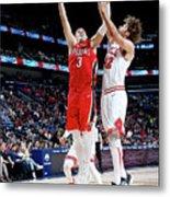 Chicago Bulls V New Orleans Pelicans Metal Print