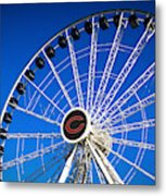 Chicago Centennial Ferris Wheel Metal Print