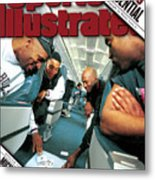 Chicago Confidential Behind The Scenes With Michael Jordan Sports Illustrated Cover Metal Print
