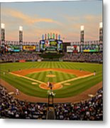 Chicago Cubs V Chicago White Sox Metal Print