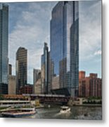 Chicago Skyline #1 Metal Print