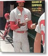 Chicago White Sox Dick Allen... Sports Illustrated Cover Metal Print