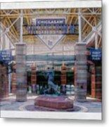Chickasaw Ballpark - Bricktown - O K C Metal Print