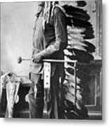 Chief Sitting Bull Metal Print