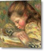 Child Reading, 1890  Metal Print