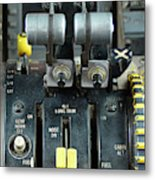 China Southern Md-82 Throttle Metal Print