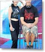 Chris And Alek All Smiles Metal Print