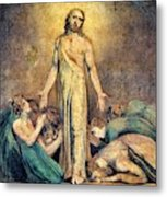 Christ Appearing To The Apostles After The Resurrection - Digital Remastered Edition Metal Print