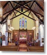 Christ Episcopal Interior Metal Print