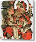 Christmas Eve - Digital Remastered Edition Metal Print