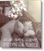 Christmas Nap Quote Metal Print