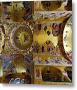 Church Ceiling Serbian Orthodox Resurrection Cathedral Saborni Hram Hristovog Vaskrsenja Podgorica Metal Print