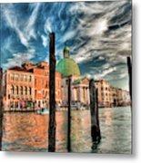 Church Of San Simeone Piccolo, Venice Metal Print