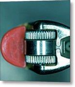 Cigarette Lighter, Close-up Metal Print