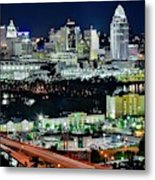 Cinci The Queen City Metal Print