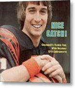 Cincinnati Bengals Chris Collinsworth Sports Illustrated Cover Metal Print