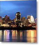 Cincinnati Skyline, Ohio Metal Print