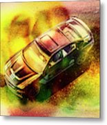 City Charger Metal Print