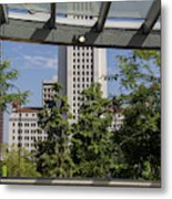 Civic Center Metro Station Los Angeles Metal Print