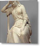 Cleopatra,  Marble Metal Print