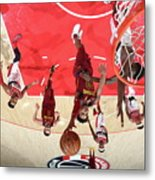 Cleveland Cavaliers V Washington Wizards Metal Print