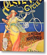 Clever Cycles Metal Print