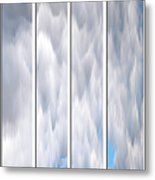 Cloud Abstract Metal Print