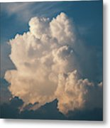 Cloud On Sky Metal Print