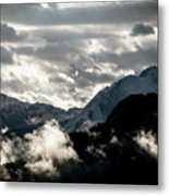 Clouds Above All Metal Print