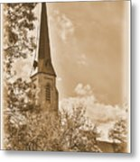 Clustered Spires Series - All Saints Episcopal Church No. 8cs - Frederick Maryland Metal Print