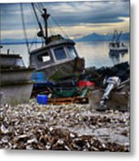 Coastal Fishing Vancouver Island Metal Print