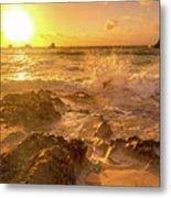 Coastal Sunrise Spectacular  Metal Print