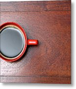 Coffee Chill Out Metal Print