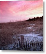 Color Over The Dunes Metal Print